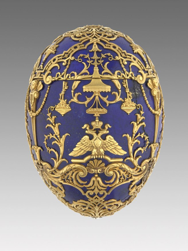 Peter Karl Fabergé (Russian, 1846-1920). 'Imperial Tsesarevich Easter Egg' 1912