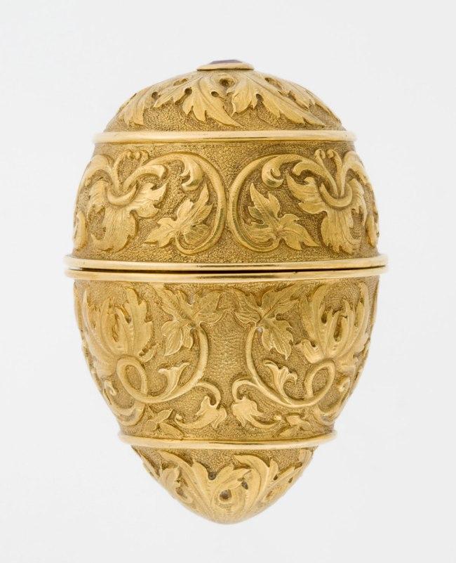 Peter Karl Fabergé (Russian, 1846-1920). 'Ring Box' before 1899