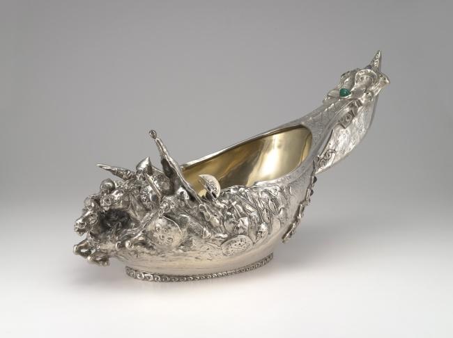 Peter Karl Fabergé (Russian, 1846-1920). 'Monumental Kovsh' 1899–1908