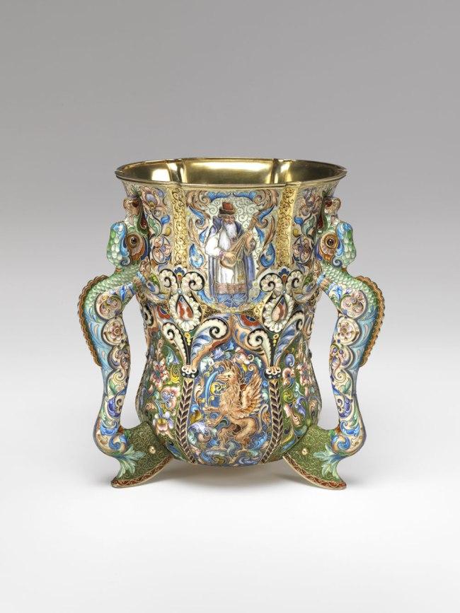Fedor Rückert (Russian, 1840–1917). 'Loving Cup' 1899-1908
