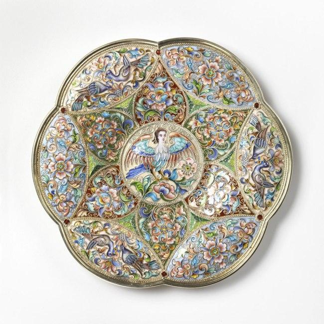 Fedor Rückert (Russian, 1840–1917). 'Plate' 1899–1908