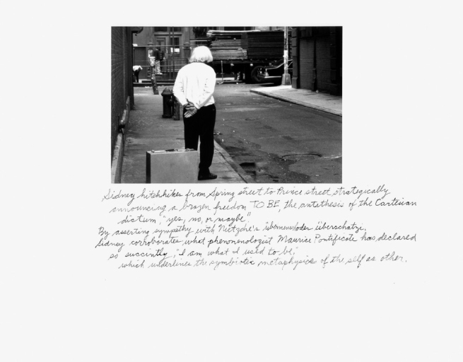 Duane Michals. 'Who is Sidney Sherman?' 2000