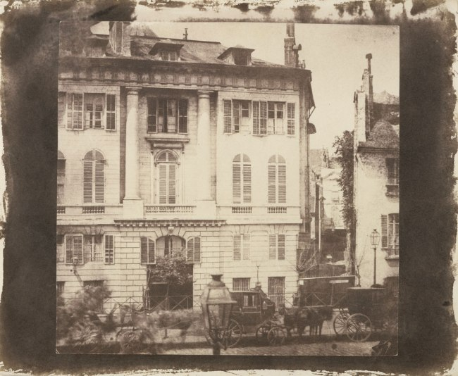 William Fox Talbot. 'Scene in a Paris Street' 1843