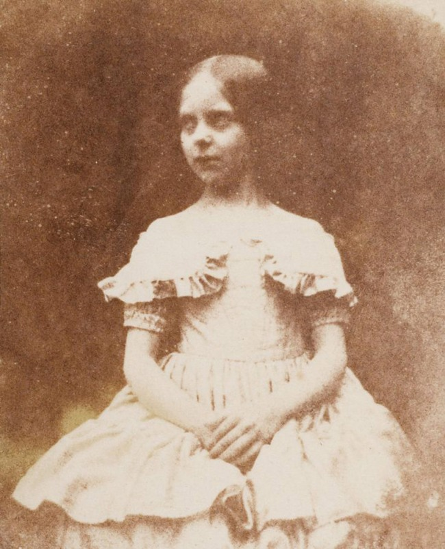 William Fox Talbot. 'The Photographer's Daughter, Ela Theresa Talbot' 1843-44