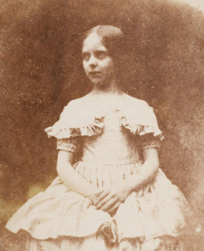 William Fox Talbot. 'The Photographer's Daughter, Ela Theresa Talbot' 1843-44