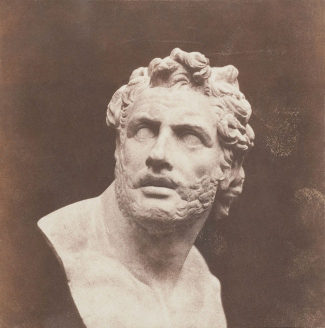 William Henry Fox Talbot. 'Plaster Bust of Patroclus' before February 1846
