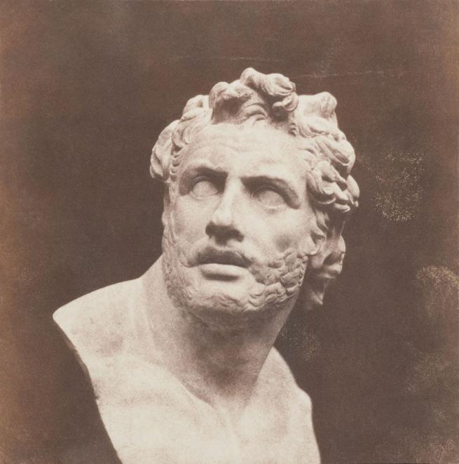 William Henry Fox Talbot. 'Plaster Bust of Patroclus' before February 1846