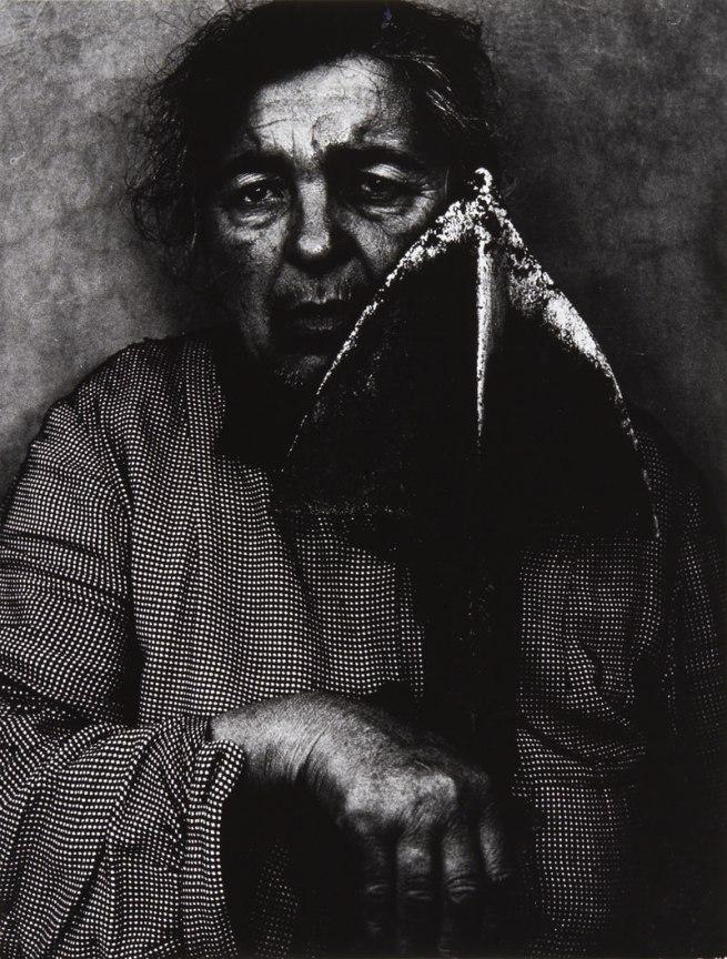 Mario Giacomelli (1925-2000) 'Mia Madre / Mother' Italy 1959