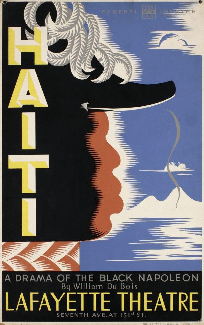 Vera Bock (1905-73) 'Haiti; A Drama of the Black Napoleon by William Du Bois at Lafayette Theatre' 1938
