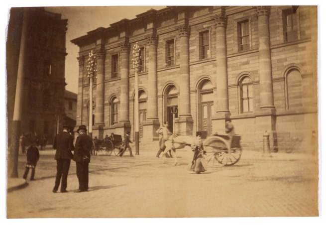 Arthur K. Syer (d. 1935) 'Royal Exchange Building in Bridge Street' c. 1880s - 1900