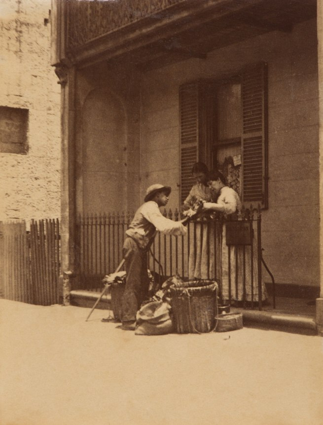 Arthur K. Syer (d. 1935) 'Hawker haggling with customers' c. 1880s - 1900
