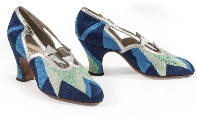 Sonia Delaunay. 'Court shoes' 1925