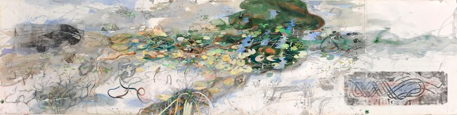 John Wolseley. 'A Daly River creek, NT' 2012