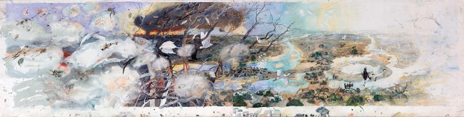 John Wolseley. 'Cycles of fire and water - Lake Tyrrell, Victoria' 2011-12