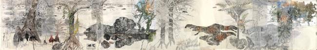 John Wolseley. 'From the edge of the great flood plains of Garrangari and Garrangalli, NT' 2012-14
