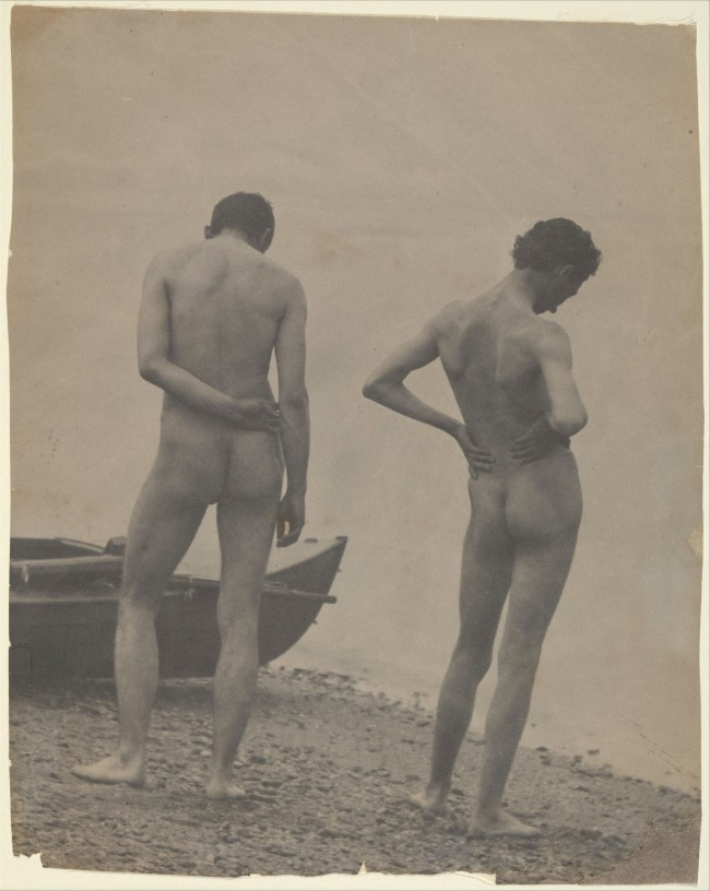 Thomas Eakins(American, 1844-1916) '(Thomas Eakins and John Laurie Wallace on a Beach)' c. 1883