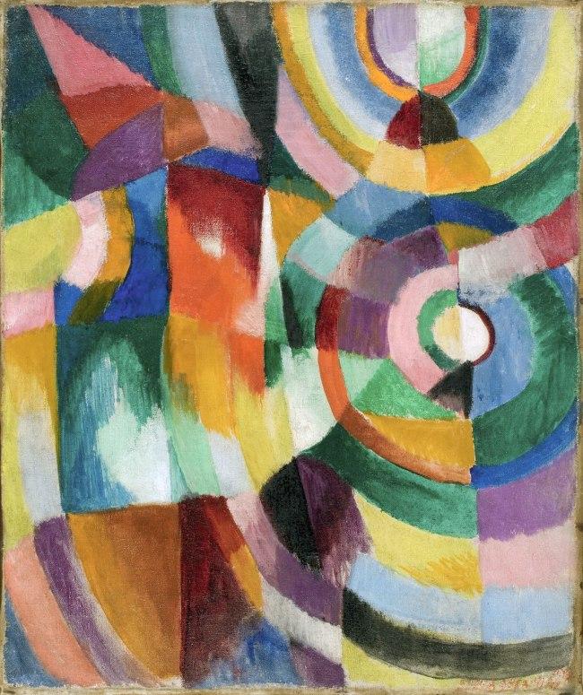 Sonia Delaunay. 'Electric Prisms' 1913