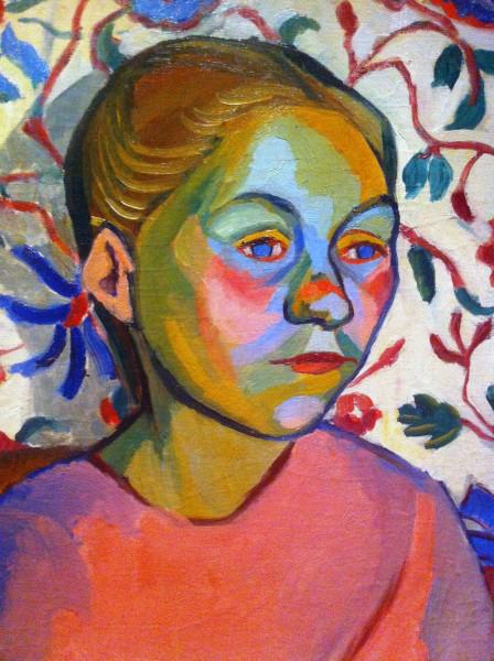 Sonia Delaunay. 'Finnish woman' 1908