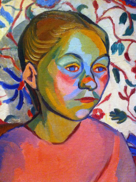 Sonia Delaunay. 'Finnish woman' 1908