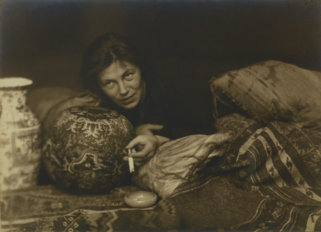 Hans Basler. 'Portait of Germaine Krull, Berlin' 1922