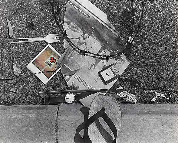 Miriam Stannage. 'War' from the series 'News from the street' 1984