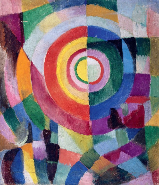 Sonia Delaunay. 'Electric Prisms' 1913-14