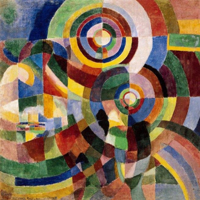Sonia Delaunay. 'Prismes electrique' 1914