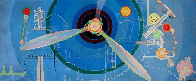 Sonia Delaunay. 'Propeller (Air Pavilion)' 1937