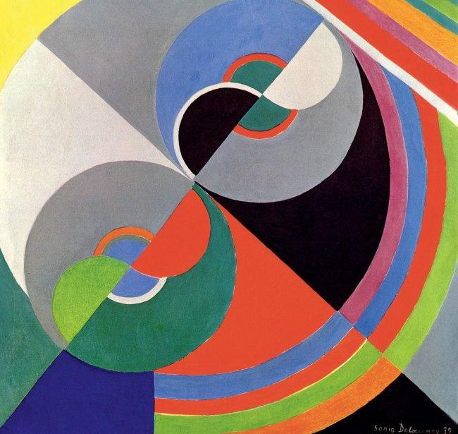 Sonia Delaunay. 'Rhythm Colour no. 1076' 1939