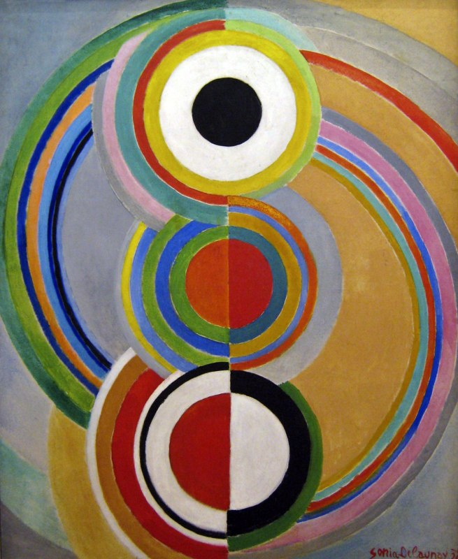 Sonia Delaunay. 'Rythme' 1938