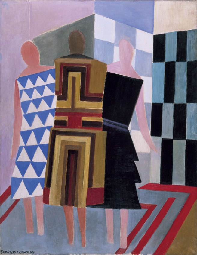 Sonia Delaunay. 'Simultaneous Dresses (The three women)' 1925