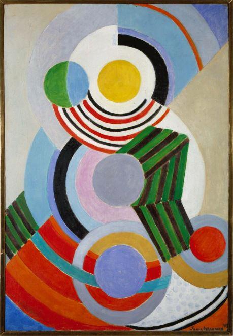 Sonia Delaunay. 'Rythme' 1945