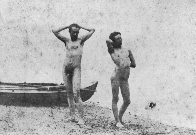 Thomas Eakins 'Thomas Eakins and J. Laurie Wallace at the Shore' 1883