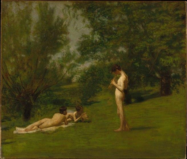 Thomas Eakins (1844-1916) 'Arcadia' c. 1883