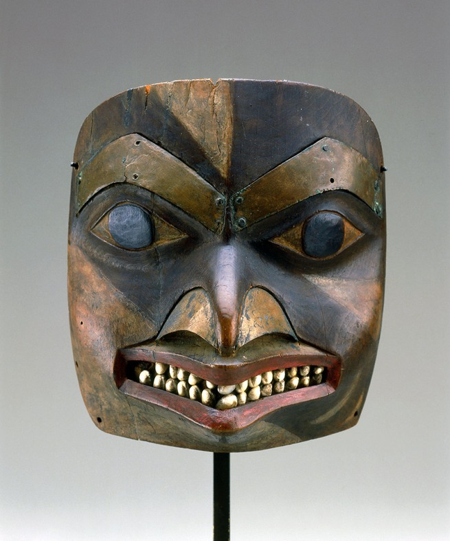 Tsimshian, British Columbia. 'Maskette' 1780-1830