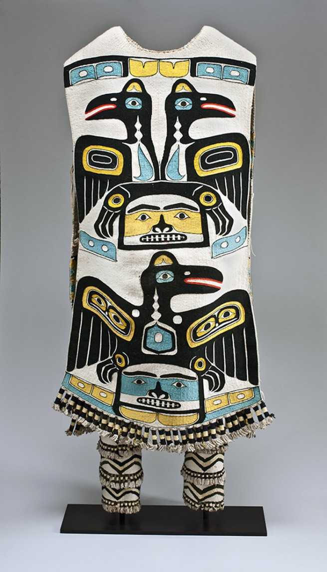 Tlingit, Chilkat, Klukwan, Alaska. 'Tunic and leggings' late 19th century