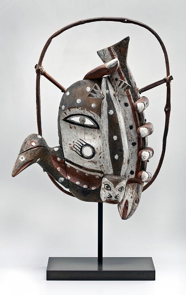 Yup'ik, Hooper Bay, Alaska. 'Mask' 1916-18