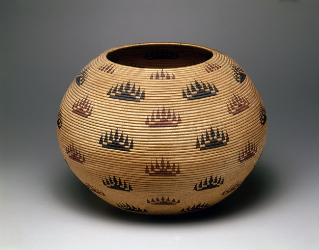 Louisa Keyser (also known as Datsolalee, Washoe) Carson City, Nevada 'Basket bowl' 1907