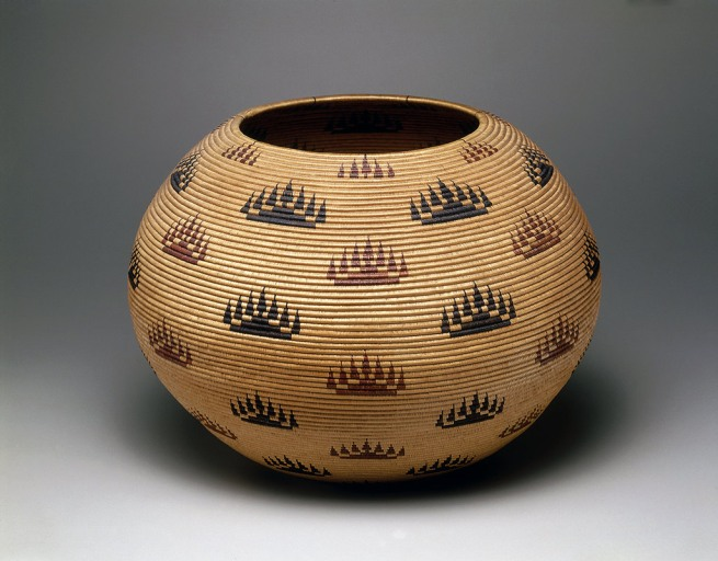 Louisa Keyser (also known as Datsolalee, Washoe) Carson City, Nevada 'Basket bowl' 1907