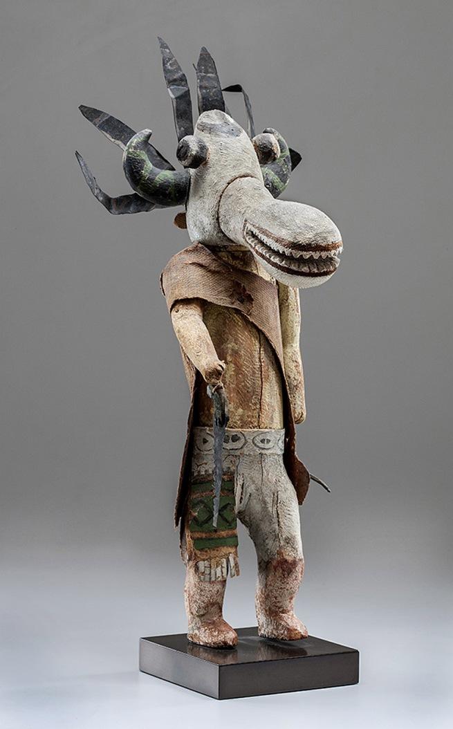 Hopi, Arizona. 'Qötsa Nata'aska Katsina' 1910