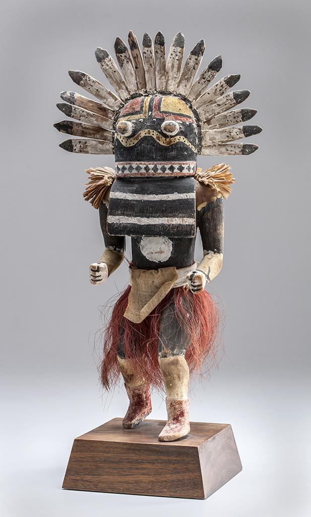 Zuni, New Mexico. 'Situlilu (Rattlesnake) Katsina' 1910–30