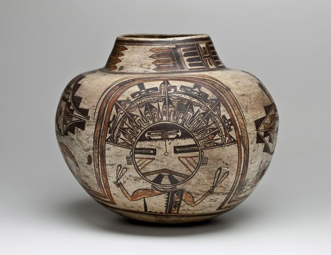 Nampeyo (Hopi-Tewa) Hano Village, Hopi, Arizona 'Water jar' c. 1900