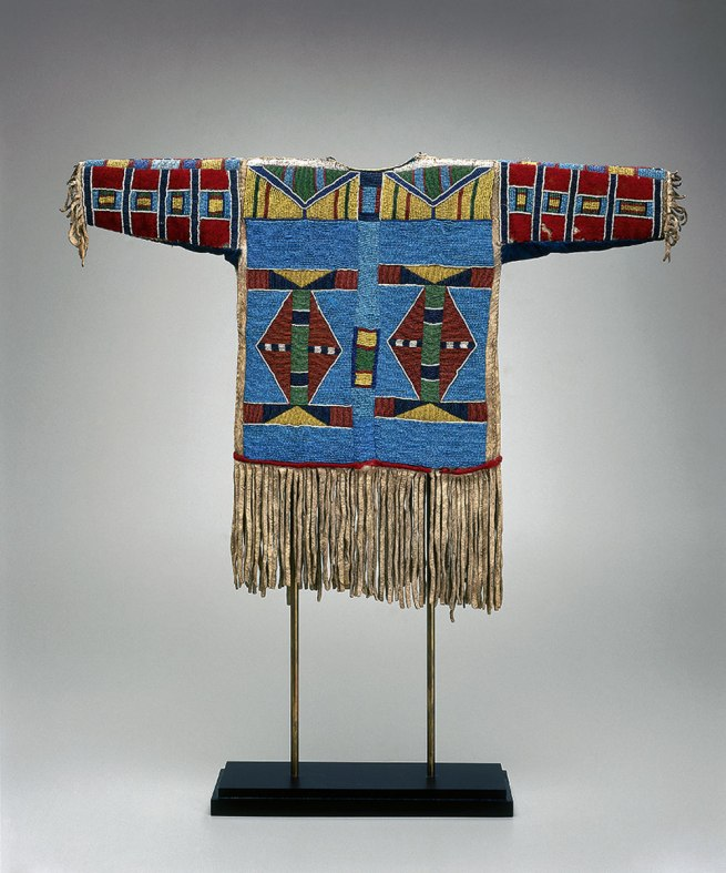Apsáalooke (Crow), Montana. 'Boy's shirt' c. 1870
