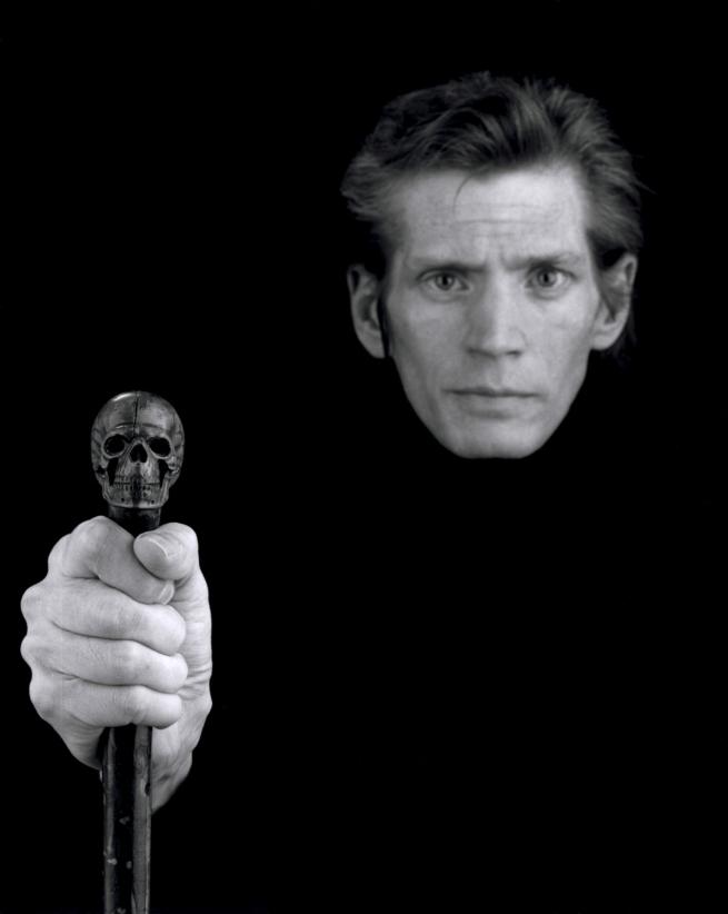 Robert Mapplethorpe. 'Self-Portrait' 1988