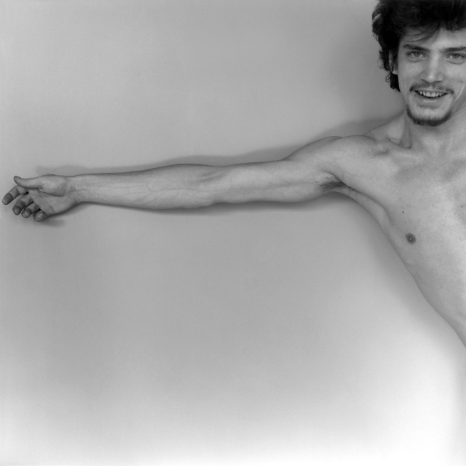 Robert Mapplethorpe. 'Self-Portrait' 1975