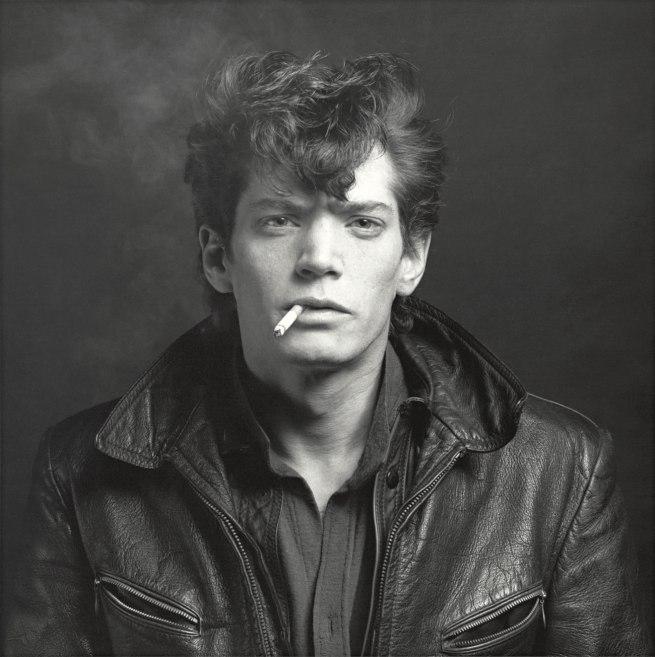Robert Mapplethorpe. 'Self-Portrait' 1980