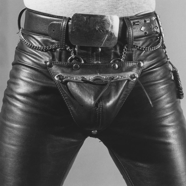 Robert Mapplethorpe. 'Leather Crotch' 1980