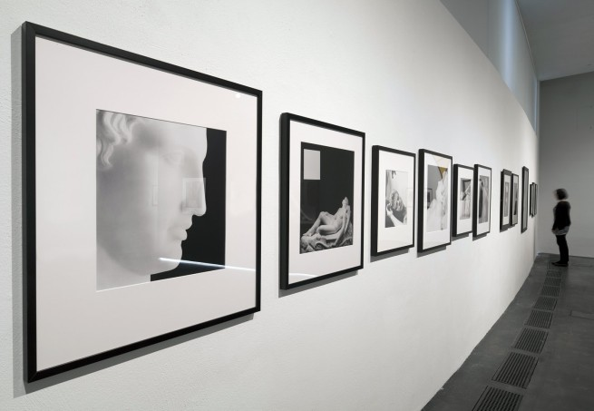 Installation view of the exhibition 'Robert Mapplethorpe' at the Museum of Contemporary Art Kiasma, Helsinki