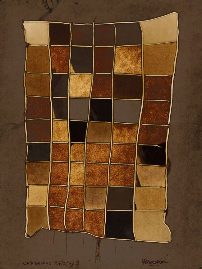 Pierre Cordier (Belgian, born 1933) 'Chemigram II' 1976