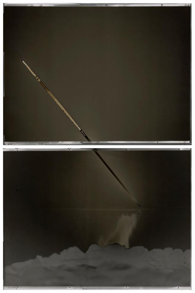 Chris McCaw (American, born 1971) 'Sunburned GSP #609 (San Francisco Bay)' 2012